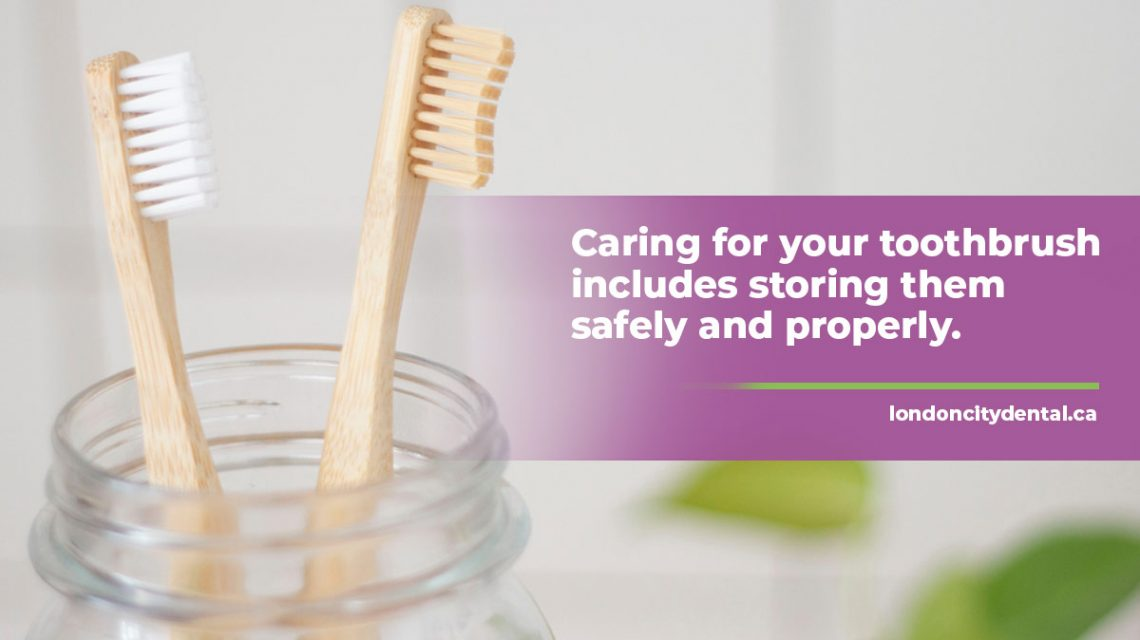 Caring for your toothbrush