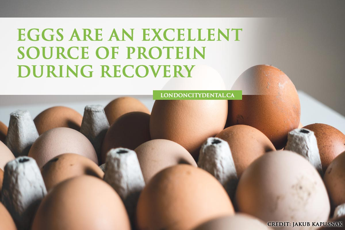 Eggs are an excellent source of protein